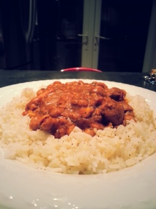 Red lentil and Chickpea curry. [I know what you're thinking, a runner and a cook. Marry him up pronto!]